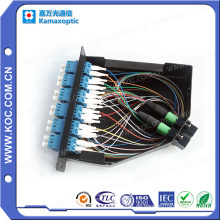 12 Kern LC zu MPO Optical Fiber Terminal Box Kassette