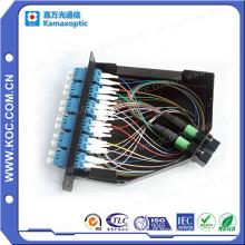 12 LC do núcleo à gaveta da caixa terminal de fibra óptica de MPO