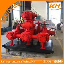API Pompe à tête de puits et matrice Collecteur 3-1 / 8 5000 Psi / 3 1/16 10000psi collecteur d'étranglement