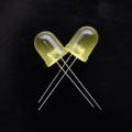LED amarelo ultra-alto brilho 10mm 60 graus