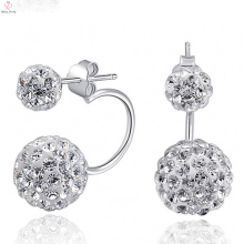 925 Sun Silver Earrings Stud Post With Cz Diamond Jewelry
