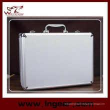 Outil case 28 cm aluminium alliage Mallette pour pistolet Gun Case boîtier étanche