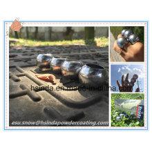 Bonding Nickel Dekorative Hochglanz Elektrostatische Spray Chrom Spiegel Silber Pulver Beschichtung