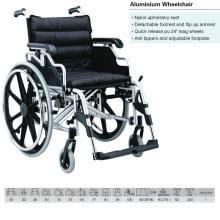 "Alumium Wheelchair Quick Released 24"" Mag Wheel"