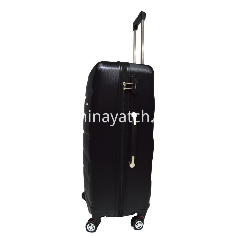 ABS Luggage Set with Gun Trolley