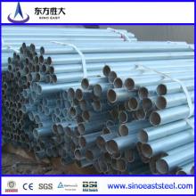 Tubo redondo de tubo de acero galvanizado (Max16)
