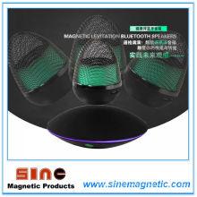 Orador sem fio de Bluetooth do Portable baixo portátil da levitação magnética