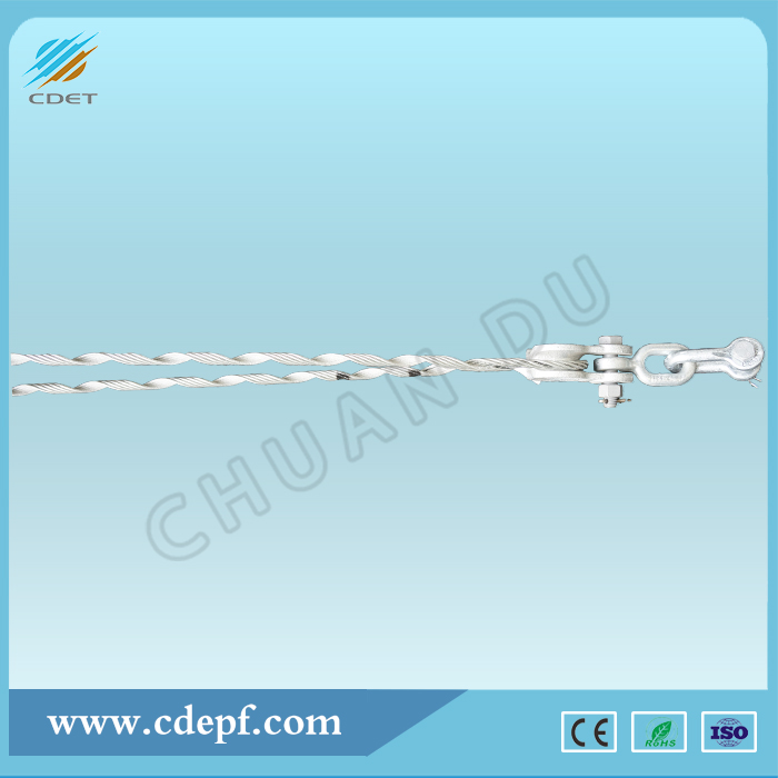 Preformed Guy Grip Dead-End Helical Clamp