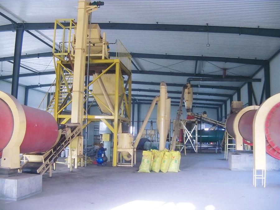Fertilizer Pellet Line