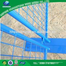 El fabricante de China modificó la cerca temporal galvanizada Australia moderna modificada para requisitos particulares del estilo