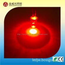 3mm/5mm 620-630nm 3000-4000mcd  red led