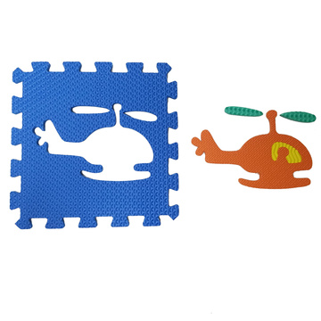 Melors Puzzle Play Mat  Flooring Mats for Kids with Traffic Shapes Pop-Out