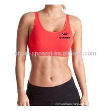 2014 Hot design ladies fitness top China