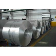 Bobine de bandes en aluminium