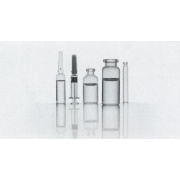 Viales de muestra de cromatografía de vidrio claro y ámbar