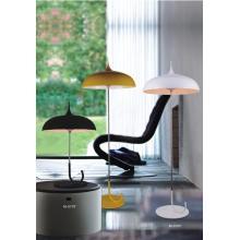 Lámpara de mesa de acero de carbono de aluminio de diseño moderno