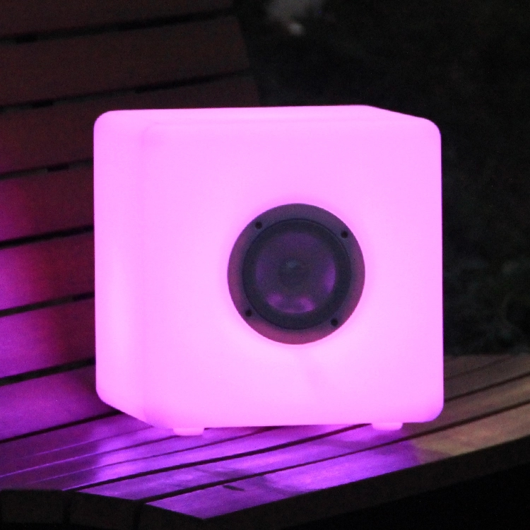 LED Color Changing Cube Bluetooth speaker