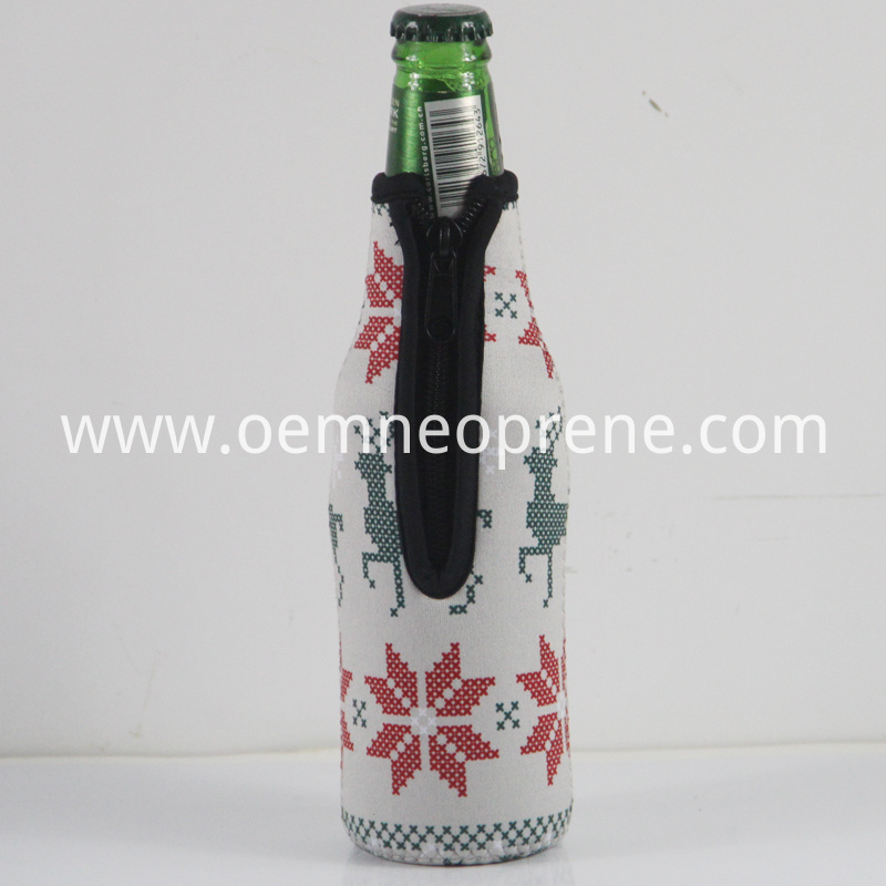 White Beer Bottle Sleeves