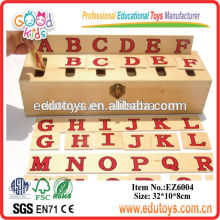 Holzspielzeug Pädagogische Sortierbox