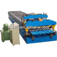 Color esmaltado azulejo que forma la máquina