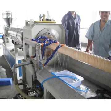 Maquinário para fabricação de tubos corrugados de plástico HDPE