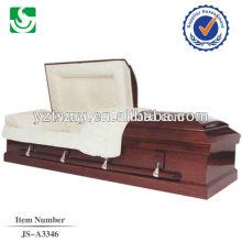 Vendas de cremação cereja competitivos caixão personalizado
