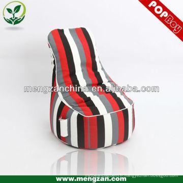 Chaise à gibier big game à rayures, chaise à beanbag à usage intérieur