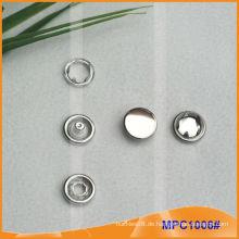 Prong Snap Button mit Metall Cap