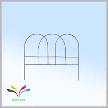 Высокое качество простой дизайн черного порошка покрынная загородка ячеистой сети сада
