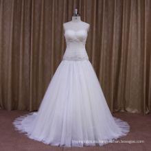 Sparkle Beads Vestidos de novia marfil Personlised