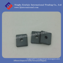 Different Shapes for Ferrite Permanent Magnet