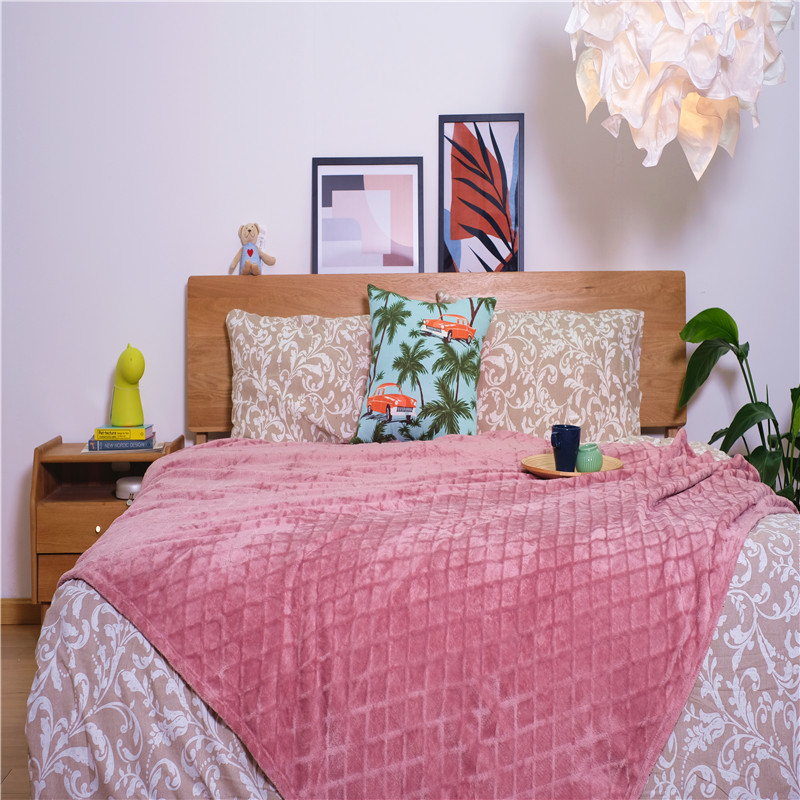 Jacquard Bed Blankets