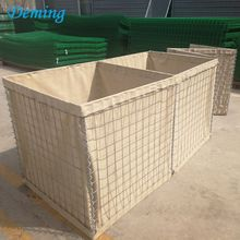 Pasokan pabrik Galvanis Militer Sand Wall Safety Barrier