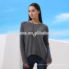 robe de tricot de cachemire de la mode des femmes de conception