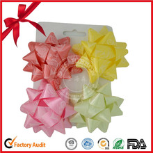Decorative Good Sale High Level Wholesale Printed Ribbon Pull Bow