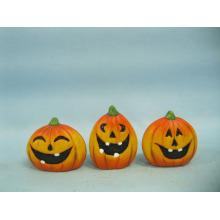 Arts et métiers en céramique de citrouille de Halloween (LOE2375-A5.5)