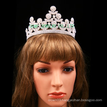 Bridal Tiara light Rhinestone Crown
