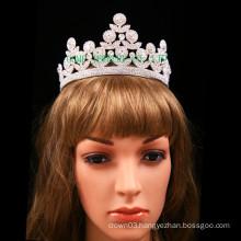 Bridal Tiara light Rhinestone Crown
