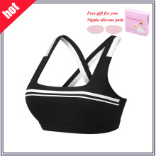 Mulheres Top Yoga Wear Breathable Fitness Sports Bra