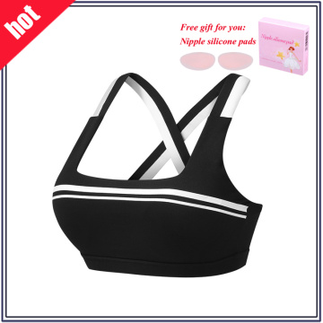 Frauen Top Yoga Tragen Breathable Fitness Sport BH
