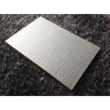 3D Embossed Aluminum Foil Faced UV MDF Wall Panel