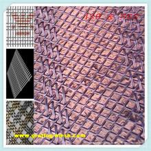 Metal / malla de alambre decorativo para la arquitectura decorativa
