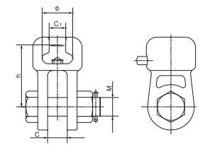 Ball Clevis Socket