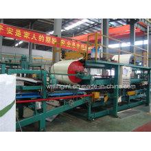 Línea de producción caliente del panel de emparedado del poliuretano de China con Ce