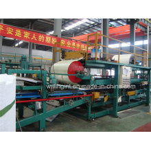 Linha de produção quente do painel de sanduíche do poliuretano de China com Ce