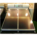 Collecteur de chauffage thermique solaire haute pression à plaque plate compacte