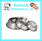 Pet Products Durable Stainless Steel Dog Bowl