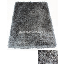 Poliéster Viscose & Silk Shaggy Mix Carpet