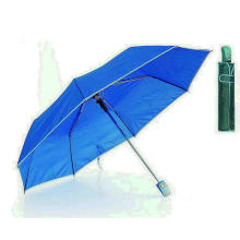 Edged Solid 3 Section Auto Open Umbrellas (YS-3FA22083520R)