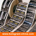 Custom Design Cmyk Cosmetic Sticker Label Printing